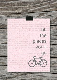 Instant Download Oh the Places You'll Go by ATimeAndPlaceDesign