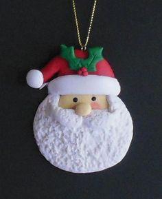 """Super cute raised clay ornament! Size 3.0""""                              …"""