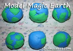 Model Magic Earth - 3Dinosaurs.com