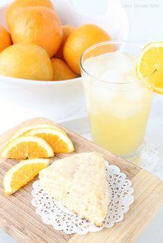 glazed orange scones glazed orange scones a delicious citrusy scone ...