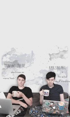 XDD danisnotonfire and amazingphil in their natural habitat