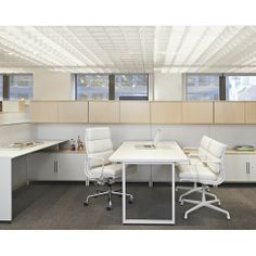 Eames Soft Pad Group Chairs - Herman Miller