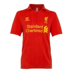 The latest Liverpool FC merchandise is in stock at FansEdge. Enjoy fast shipping and easy returns on all purchases of Liverpool FC gear, apparel, and memorabilia with FansEdge. Liverpool Football Kit, Liverpool Fc Home, Liverpool Fc Shirt, Football Kits, British Football, S Shirt, Shirt Style, Warrior Sports, Sports