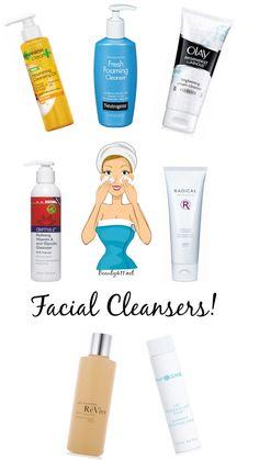 Looking for a new facial cleanser? Check out some of the new spring cleansers!