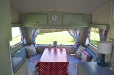 Vintage Classic 1960/70's Sprite Caravan FULLY RESTORED shabby chic with Awning