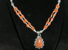 Check out this item in my Etsy shop https://www.etsy.com/listing/273830070/ft965-goldstone-necklace