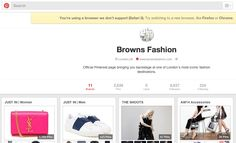 Browns Pinterest