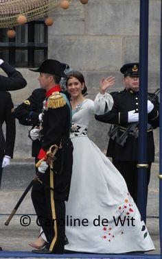 Kroonprins Frederik en kroonprinses Mary van Denemarken