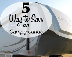 Save Money on Campgrounds
