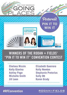 I'm so excited, I won! Thank you so much! So ready for #RFConvention