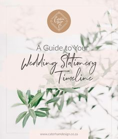 A-guide-to-your-wedding-stationery-timeline-blog-post-caterham-co. Timeline, Wedding Stationery, Things To Come, Place Card Holders, Calligraphy, Blog, Inspiration, Instagram, Design