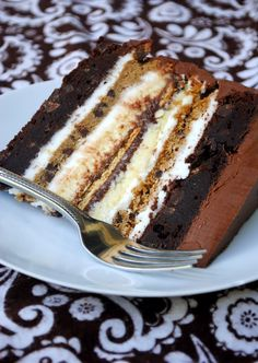 S'more Cake, I have to try this!