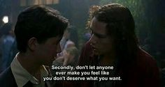 10 Things I Hate About You movie quotes Movie Lines, Film Quotes, How I Feel, Good Movies, Amazing Movies, Iconic Movies, Be Yourself Quotes, Beautiful Words, Memes