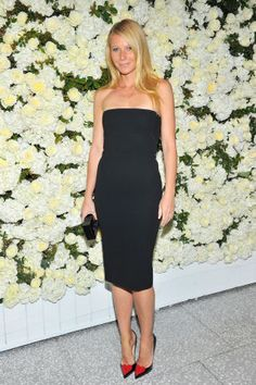 Gwyneth Paltrow in Victoria Beckham: