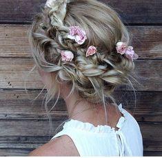 Idée coiffure de mariage tendance 2017 Image Description