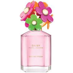 Marc Jacobs Daisy Eau So Fresh Sunshine Eau De Toilette 2.5 Oz. ($78) ❤ liked on Polyvore featuring beauty products, fragrance, perfume, beauty, makeup, fillers, none, eau de toilette fragrance, parfum fragrance and perfume fragrance