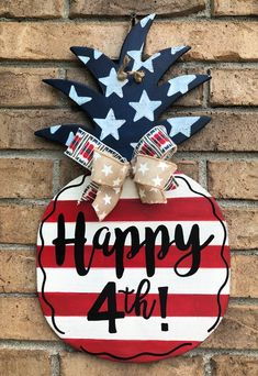 July Crafts, Summer Crafts, Fourth Of July, 4th Of July Wreath, Wooden Projects, Wood Crafts, Diy Signs, Wood Signs, Wedding Shower Gifts