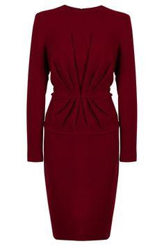 Centre Pleat Dress By ELIE SAAB @ http://www.boutique1.com/