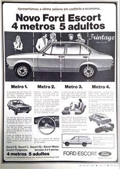 Publicidade Ford Escort, 1975