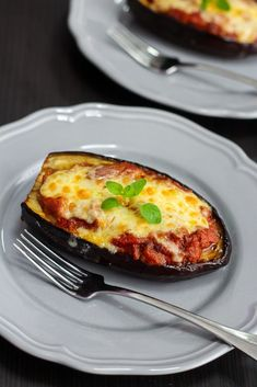 Delicious Stuffed Eggplant | http://mayakitchenette.com/delicious-stuffed-eggplant