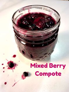 I've found so many uses for this deliciously simple, and simply delicious Mixed Berry Compote! Whether it's used to top off a bowl of ice cream, drizzle over a favorite cake, or added to your favorite pudding or trifle, this fruit topping makes nearly everything taste better.  A wonderful substitute for maple syrup on a stack of pancakes… or  my favorite use - spooned over a warm generous slice of Baked French Toast Casserole!  #mysweettoothbakery #toppings #breakfastrecipes #fruittoppings Berry Compote, Fruit Compote, Baked French Toast Casserole, Ice Cream Mix, Compote Recipe, Fruit Sauce, Ice Cream Toppings, Mixed Fruit, Cake Stuff