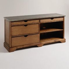 One of my favorite discoveries at WorldMarket.com: Emmett Media Stand