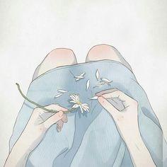 Ooh jitte nee ek is jammer. Dit was net vir my 'n cool artistic illustration die 'i miss you'. Art And Illustration, Character Illustration, Aesthetic Art, Aesthetic Anime, Arte Inspo, Dessin Old School, Sad Art, Anime Scenery, Anime Art Girl