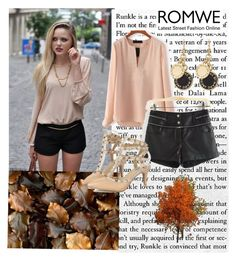 """Romwe 3/II"" by merima-p ❤ liked on Polyvore featuring GE and Marc by Marc Jacobs"