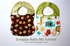 Who doesn't love a cute baby bib?  I made these bibs to coordinate with some baby blocks  I made for 2 friends who are expecting.  Since I ...