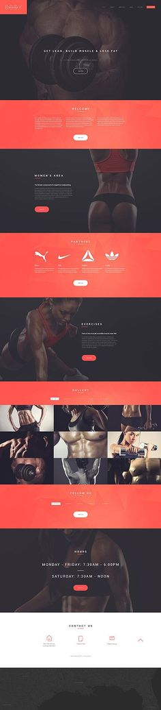 Sport website inspirations at your coffee break? Browse for more Responsive JavaScript Animated #templates! // Regular price: $69 // Sources available: .HTML, .PSD #Sport #Responsive JavaScript Animated More #ResponsiveWebDesign