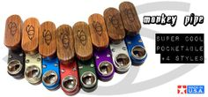 Win a genuine Monkey Pipe. So small and pocket friendly that you'll be surprised how good it is