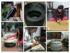 Sillon reciclado, una ayuda para el planeta