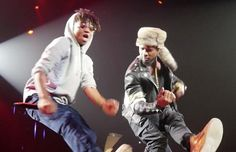 Usher brought Rae Sremmurd out at his arena concert in Phillips Arena (ATL).SremmLife album in stores January 6th!
