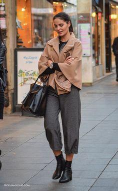 Neem een kijkje op de beste manier om te dragen broek in de foto's hieronder en doe ideeën op voor uw eigen outfits !!!