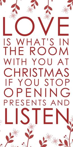 This Christmas quote is so lovely. What fabulous inspiration for the upcoming Christmas holiday!