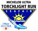 Seafair puts on a 5K and 8K every year in downtown #Seattle called the Torchlight Run.  It is a fun race!  We wish they would find a better sponsor though...