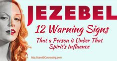 12 Warning Signs That a Person is Under the Influence of a Jezebel Spirit - Above & Beyond Christian Counseling Spiritual Attack, Spiritual Health, Spiritual Warfare, Yoga For Beginners Youtube, Jezebel Spirit, Spirit Quotes, Narcissistic Behavior, Bible Teachings, Bible Knowledge