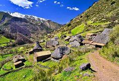 Teitos en Somiedo, Asturias