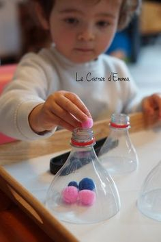 activité, apprentissage, motricité fine, montessori, 1-2 ans idée activité…