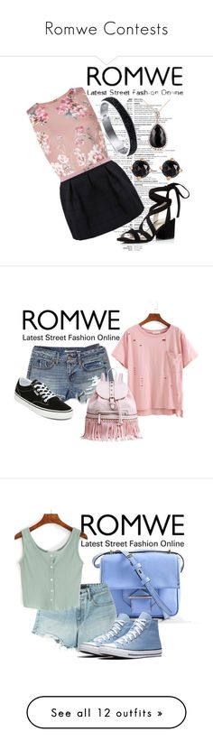 """Romwe Contests"" by cocoivy ❤ liked on Polyvore featuring Miss Selfridge, MSGM, Kenneth Cole, Irene Neuwirth, Kobelli, American Eagle Outfitters, Vans, MKF Collection, Reed Krakoff and T By Alexander Wang"