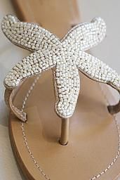 Aspigia beaded starfish sandals with leather soles : Blessed Boutique Starfish Sandals, Beaded Starfish, Women Sandals, Huaraches, Blessed, Boutique, Leather, Ideas, Shoes