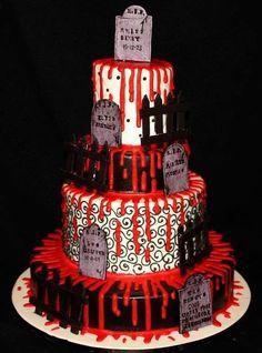 43 best Spooky Cakes images on Pinterest | Bakken, Birthday cakes ...