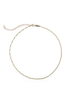 Minimalist Chokers, Barely There Jewelry