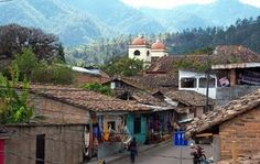 (Valle de Angeles, Honduras) Artisan Village 30 minutes up a mountian from Tegucigalpa (the countries capitol). I remember it being almost magical, full of tall pines and brightly colored textures.