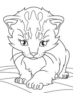 Kitty Cat Coloring Page Unique 30 Free Printable Kitten Coloring Pages Kitty Coloring Cat Coloring Page, Disney Coloring Pages, Animal Coloring Pages, Coloring Pages For Kids, Coloring Sheets, Coloring Books, Kitten Drawing, Coloring Pages Inspirational, Cat Quilt