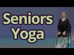 Third Age Yoga with Andy Gilats Episode 1 of 2 Episode 2 link: http:& Yoga for seniors. Yoga can help with ailments such as: Arterial hy. Yoga Fitness, Senior Fitness, Gym Workouts, At Home Workouts, Sanftes Yoga, Gentle Yoga, Chair Yoga, Yoga Videos, Yoga For Beginners