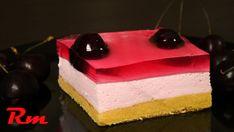 Γλυκό ψυγείου με κεράσι ή φράουλα – foodaholics.gr Cold Desserts, Deserts, Baking, Cake, Recipes, Food, Youtube, Greece, Bakken