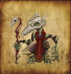 Concept Kobold cultist of dragons fire by *Keleus on deviantART