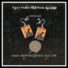 Harry Potter Earrings.