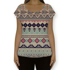 Camiseta fullprint indian de @tanure | Colab55